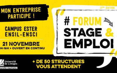 Le Sirque au Forum Stage & Emploi de l'Université de Limoges