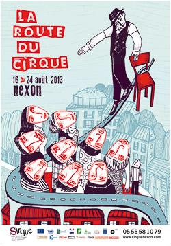 2013 SIRQUE AFF Festival La Route du Sirque
