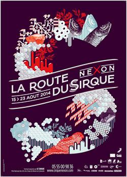 2014 SIRQUE affiche-Festival La Route du Sirque