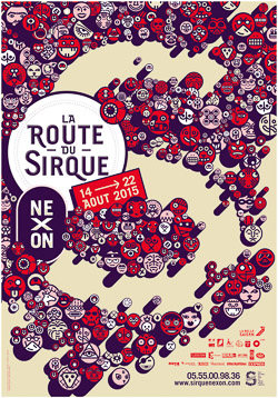 2015 SIRQUE festival AFFICHE