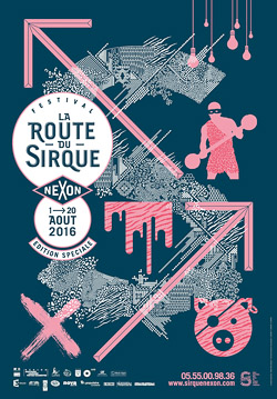 2016 SIRQUE Festival Affiche