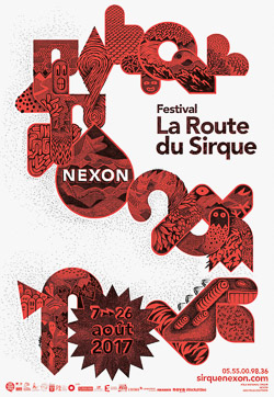 2017 SIRQUE Festival AFFICHE
